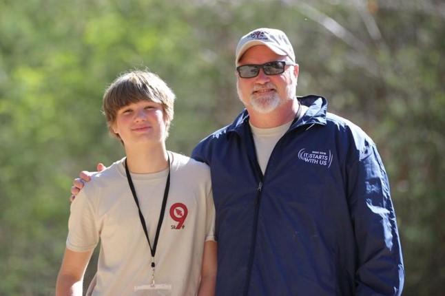 Rusty Royston and His son Enotah Environmental LLC of Blairsville, GA